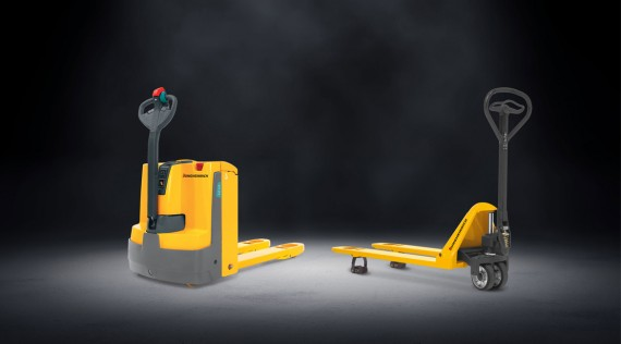 Choose the right hand pallet truck for your application